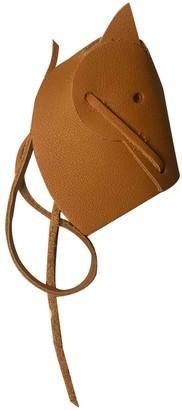 Hermes Brown Leather Bag charms