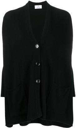 Allude oversized V-neck cardigan