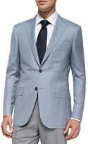 Ermenegildo Zegna Trofeo 600 Check Jacket, Blue/Gray/White