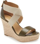 MICHAEL Michael Kors Prue Platform Wedge Sandal