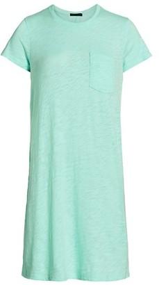 ATM Anthony Thomas Melillo Pocket T-Shirt Dress