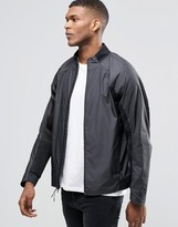 Nike Hypermesh Varsity Jacket In Black 727351-010