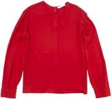 Chloé Red Silk Top
