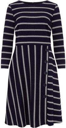 Phase Eight Honora Stripe Button Dress