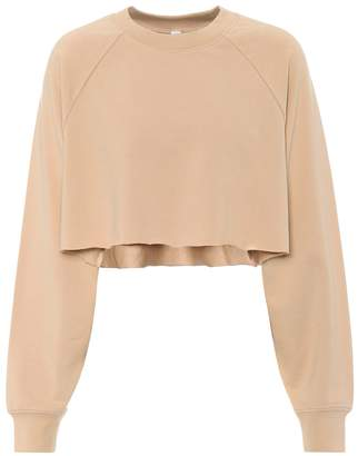 Alo Yoga Double Take cotton-blend sweatshirt