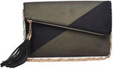 Urban Expressions Suede Foldover Clutch