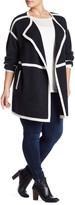 Susina Wool & Cashmere Blend Femme Car Coat (Plus Size)