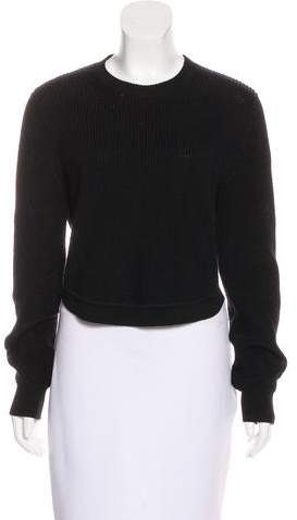 Givenchy Cropped Knit Sweater