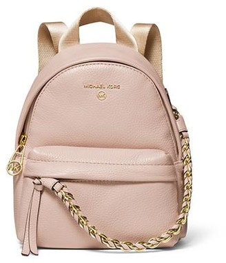 MICHAEL Michael Kors Slater Extra-Small Messenger Backpack - Pink