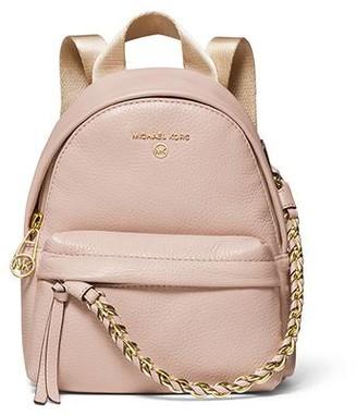 MICHAEL Michael Kors Slater Extra-Small Messenger Backpack - Pink
