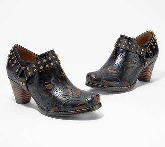 Spring Step L'Artiste by Leather Booties - Kacielou