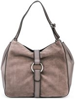 MICHAEL Michael Kors large 'Quincy' hobo tote - women - Leather - One Size