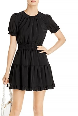 Aqua Smocked Ruffle Trim Dress - 100% Exclusive
