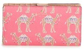 Kate Spade Women's Camel March Stacy Wallet - Pink