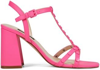 Nine West Glimmer Block Heel Sandals