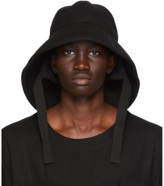 TAKAHIROMIYASHITA TheSoloist. Black Wool Rain Hat