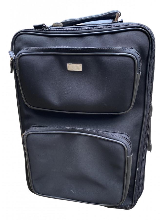Gucci Black Cloth Travel bags