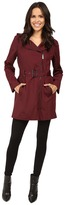 MICHAEL Michael Kors Asymmetric Zip Front Belted Trench M722395T Women's Coat