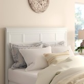 Three Posts Byram Panel Headboard Size: King, Color: Creamy White