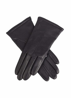 Dents Ginny Women's Single Point Leather Gloves BLACK M