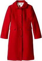 Dolce & Gabbana Back to School Wool/Cashmere Coat Girl's Coat