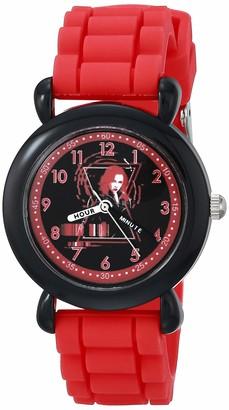 Marvel Girls' Black Widow Analog Quartz Watch with Silicone Strap