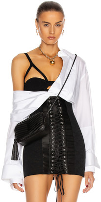 Dolce & Gabbana Long Sleeve Blouse in White | FWRD