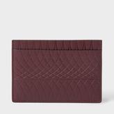 Paul Smith No.9 - Damson Leather Card Holder