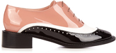 Rochas Lace-up leather brogues
