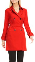 Vince Camuto Women's Belted Double Breasted Trench Coat
