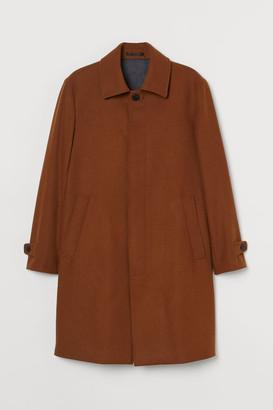 H&M Wool-blend Car Coat - Beige