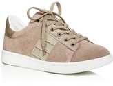 Sam Edelman Marquette Croc-Embossed Lace Up Sneakers