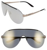 Carrera Men's Eyewear 135Mm Shield Sunglasses - Black Bronze/ Grey Bronze