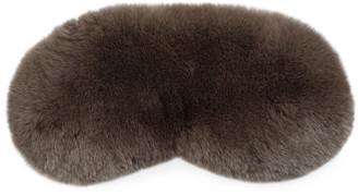 Yves Solomon Silk-Lined Rabbit Fur Mask