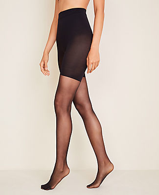 Ann Taylor Perfect Sheer Control Top Tights