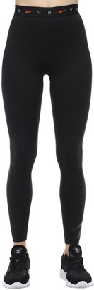 Reebok x Victoria Beckham Logo Elastic Leggings