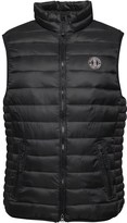 Crosshatch Mens Boxhill Quilted Gilet Black