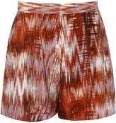 Elizabeth and James Kayla Printed Silk Shorts