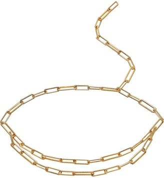 Missoma Limited Gold Coterie Chain Belt