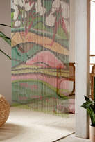 Urban Outfitters Fauvist Oversized Bamboo Beaded Curtain