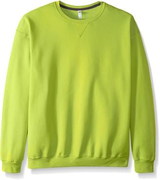 Fruit of the Loom Men's Fleece Crew Sweatshirt - Extra Sizes