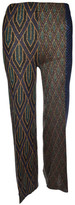 Circus Hotel Printed Panel Trousers