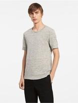 Calvin Klein Platinum Linen Melange Easy T-Shirt