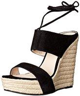 Pelle Moda Women's Olive Wedge Sandal