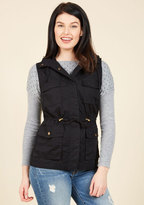 Love Tree High-Trail It Outta Here Vest in Black