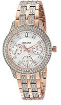 Bulova 98N113 Crystal Women's Watch