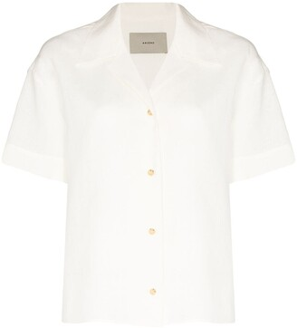 ASCENO Prague linen shirt