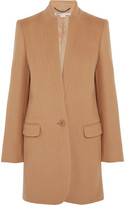 Stella McCartney Bryce Melton Wool-blend Coat - Tan