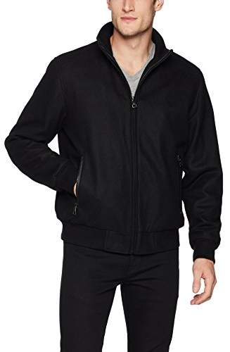 925b1b060 Men's Wool Bomber Coat