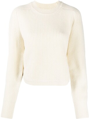 Isabel Marant Ribbed Knit Cashmere-Wool Jumper